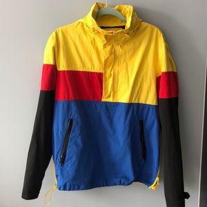 21 windbreaker pullover jacket